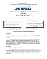 IMP-IHR-1FT-Owners Manual