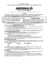 IMP-IHRSP-375-Owners Manual