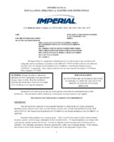IMP-IRB-30-Owners Manual