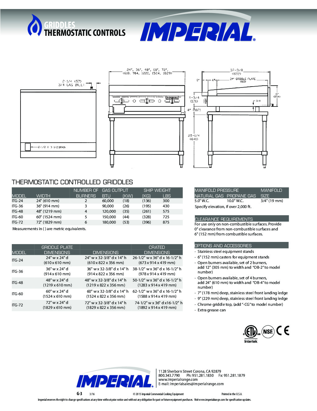 Imperial ITG-60 60
